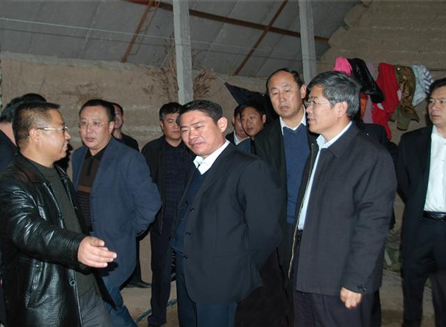 2008年3月,银川市委书记崔波等相关领导莅临我公司苗木基地视察工作