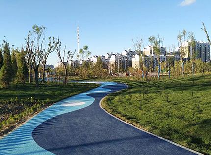 2017年固原市九龙公园景观绿化工程